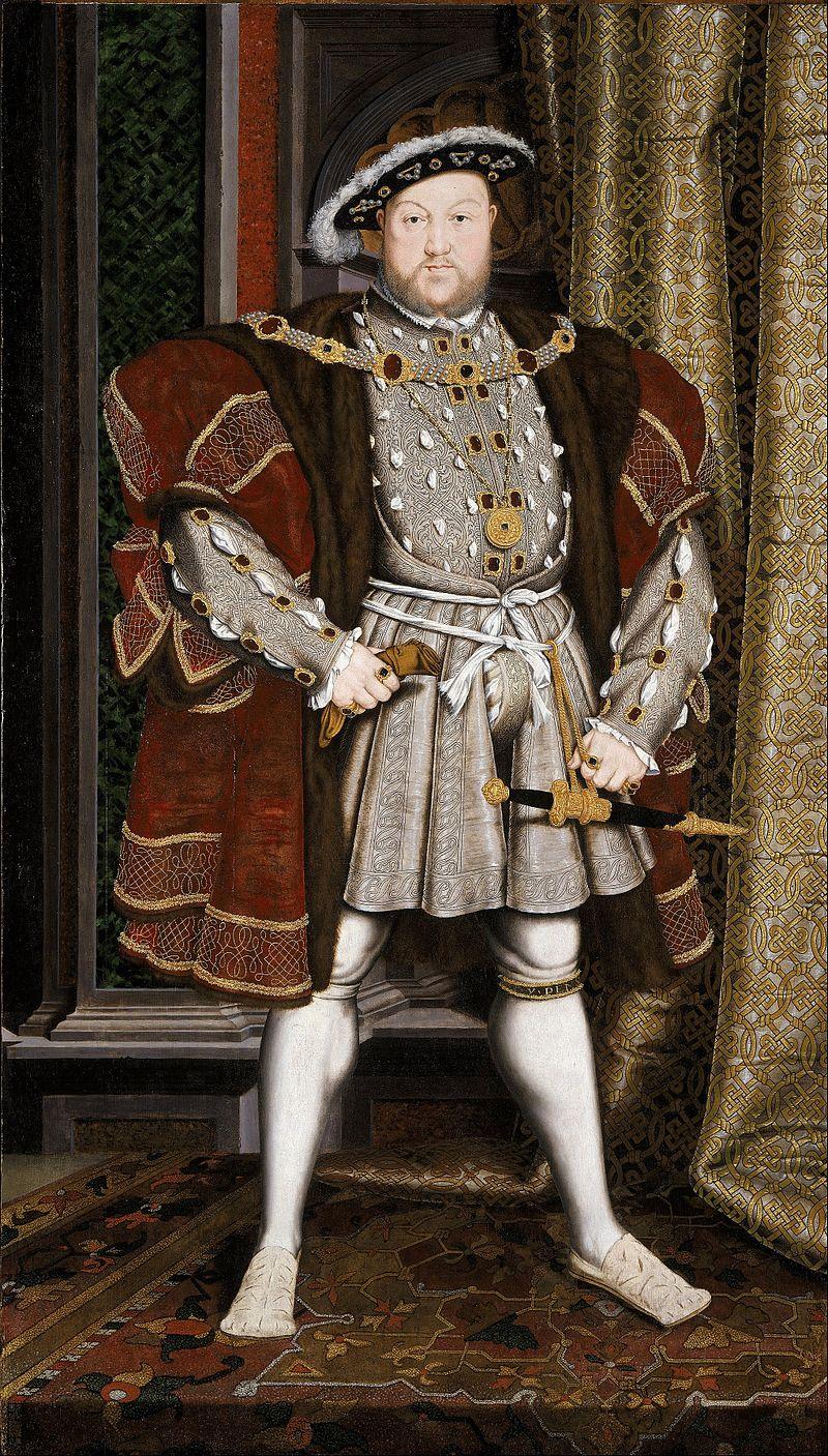 Treppenlifte - Heinrich VIII. Portrait